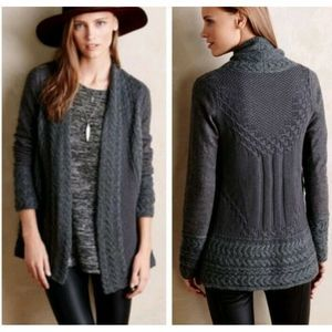 Anthropologie Knitted & Knotted Regan Cardigan